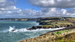 The Cornish coast near Port Gaverne (Baz Richardson (back on 26 May)) Tags: cornwall northcornwall portgaverne cornishcoast cliffs rocks