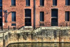 Albert Dock, Liverpool (robin denton) Tags: albertdock liverpool merseyside building listedbuilding historicbuildings historicbritain history warehouse regeneration tourism hdr