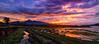 Puncak Sunset (heqris) Tags: ngantang malang sunset amazing beautiful selorejo village indonesia canon lanscape