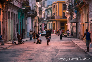 Playing on the streets of Centro Havana