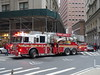 201802075 New York City Chelsea FDNY firetruck (taigatrommelchen) Tags: 20180208 usa ny newyork newyorkcity nyc manhattan financialdistrict icon urban city street fdny firetruck