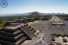 Teotihuacan (Viaggiatori del Mondo) Tags: teotihuacan città del messico mexico city cdmx maya aztechi piramide piramidi luna sole moon sun pyramid pyramids anthropology archeology antropologia archeologia voladores art storia history mesoamerica precolombiana viale dei morti nahua otomi totonachi unesco heritage