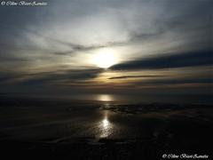 image5131kk (Céline Bizot-Zanatta) Tags: sunset plage sable seascape ciel nuage soleil mer iode marée soirée récifs europe france normandie manche montsaintmichel de baie