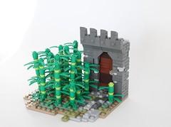 Jungle Gate (-Matt Hew-) Tags: lego moc castle kingdoms technique bamboo forest jungle