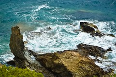 Sea Rock Needle 1 (FotoGraf-Zahl) Tags: sea rock rockneedle mar meer felsen windy stormy stürmisch windig wellen waves olas southernfrance südfrankreich francia