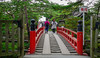 Red bridge to temple in Matsushima, Japan (phuong.sg@gmail.com) Tags: archipelago architecture asia asian beauty bridge culture forest fresh garden green island japan japanese landmark landscape matsushima monument natural nature orient oriental outdoor outside park perspective pine pines place plants red refresh relaxation scenery stones tourism travel tree trees vegetation weekend wood wooden zen