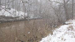 surf's up (Mykl i am) Tags: snow snowstorm river white brown winter january weather westfork hearthhill video micropoem haiku rhyme