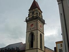 The Clock Tower of Passau Germany (bellrich1941) Tags: clocktower passau germany