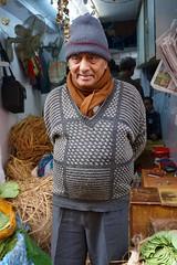 (annemariegrudem) Tags: delhi india market shopkeeper man