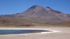 158 Laguna Miscanti+Vulkan Miscanti (roving_spirits) Tags: chile atacama atacamawüste atacamadesert desiertodeatacama désertcôtier küstenwüste desiertocostero coastaldesert