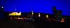 Kingman Station w/ a WB coming into sight. (Woodypug) Tags: bnsf atsf kingman arizona amtrak twilight westbound ztrain