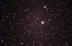 Flaming Star Nebula (Caldwell 31 or IC405) (Duncan Hale-Sutton) Tags: caldwell 31 flaming star nebula nebulae ic405 night astronomy auriga aurigae ae runaway omc140 maksutov cassegrain d90 nikon heq5 orion