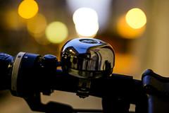 Ring The Bell (CoolMcFlash) Tags: bell bike bicycle focus bokeh light night vienna ringthebell flickrfriday closeup macro fujifilm xt2 glocke fahrradglocke fahrrad nahaufnahme makro fokus lichter nacht wien fotografie photography xf 35mm f 14 r