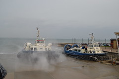 Hovertravel Freedom 90 GH-2114 (Will Swain) Tags: ryde isle wight 16th october 2017 south coast island hoverport hover hovercraft craft sea ocean transport travel hovertravel freedom 90 gh2114 2114