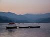 Boats on Lake Phewa, Pokhara at Sunset (tclemitson) Tags: nepal pokhara westerndevelopmentregion