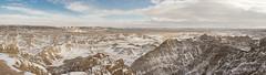 12/22/2017 - Badlands in the Winter (lalitkumarj) Tags: badlands national parks snow winter dakota southdakota buffalo canyon
