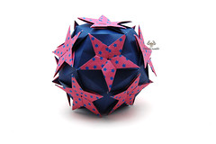 Compass Var (Akizhi) Tags: origami kusudama modular paper art craft folding