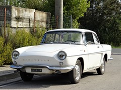 1964 Renault Caravelle (Alessio3373) Tags: cars oldcars classiccars vintage renault renaultcaravelle caravelle autoshite youngtimers targhenere blackplates worldcars