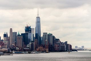 Lower Manhattan and One World Trade Center, New York City