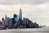 Lower Manhattan and One World Trade Center, New York City (OnTheRoadAgainBlog) Tags: newyorkcity newyork nyc america usa wtc worldtradecenter manhattan eastcoast newjersey jersey nj canon 700d tele 250mm zoom