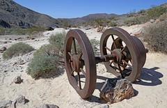 Mining Equipment at Inyo Mine (Ron Wolf) Tags: deathvalleynationalpark echocanyon historic nationalpark abandoned landscape machinery mine mining california