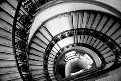 The courtaud institute of art, London (Grace (Bingyan S)) Tags: london travel architecture city blackandwhite stairs pattern