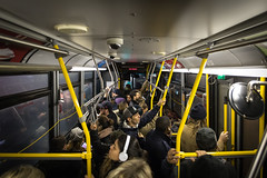 Stop Request (cookedphotos) Tags: 2018inpictures toronto ontario canada canon 5dmarkiv streetphotography ttc bus commute urban waiting standing packed busy 365project p3652018