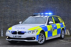 LJ67 EMF (S11 AUN) Tags: durham constabulary bmw 330d 3series xdrive touring anpr police traffic car roads policing unit rpu 999 emergency vehicle policeinterceptors lj67emf