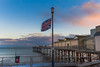 Teignmouth Grand Pier (gilldavies50) Tags: flag