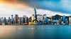 Hong Kong skyline in the morning at Victoria Harbour, Hong Kong China (Patrick Foto ;)) Tags: architecture asia asian background bay beautiful beauty blue building business central china chinese city cityscape cloud cloudy colorful day downtown famous ferry harbor harbour hato holiday hong hongkong international kong landmark landscape metropolis modern morning office over panorama peak port rain scene sea sky skyline skyscraper storm tower travel typhoon urban victoria view water kowloon hk