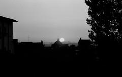 Sunset in Tuscany (michele.palombi) Tags: arezzo sunset tuscany fim 35mm ilford fp4 darkroom