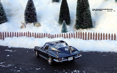 1966 Chevrolet Corvette Sting Ray 427 Sport Coupe (JCarnutz) Tags: 124scale diecast danburymint 1966 chevrolet corvette stingray
