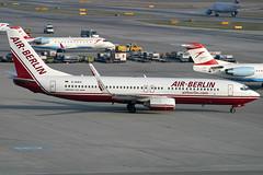 Air Berlin Boeing 737-8K5 D-AHFO (c/n 27987) (Manfred Saitz) Tags: vienna airport schwechat vie loww flughafen wien air berlin boeing 737800 738 b738 dahfo dreg