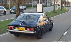 Opel Kadett Coupé 1979 (XBXG) Tags: dz57xp opel kadett coupé 1979 opelkadett ckadett kadettc coupe bleu blue fokkerweg aalsmeerderbrug schipholrijk schiphol rijk nederland holland netherlands paysbas vintage old classic german car auto automobile voiture ancienne allemande deutsch vehicle outdoor