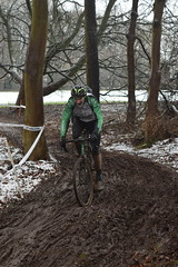 DSC_0481 (sdwilliams) Tags: cycling cyclocross cx misterton lutterworth leicestershire snow