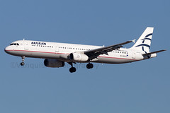 SX-DGQ Aegean Airlines A321-200 Madrid Barajas Airport (Vanquish-Photography) Tags: lemd mad madridbarajas madridbarajasairport madridairport barajasairport vanquish photography vanquishphotography ryan taylor ryantaylor aviation railway canon eos 7d 6d aeroplane train spotting sxdgq aegean airlines a321200 madrid barajas airport