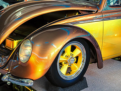 little_brown_bug (gerhil) Tags: travel event carshow autorama worldofwheels car auto classic vintage body detail tiure wheel light trunk winter january2018 nikcolorefexpro4 rim 1001nights 1001nightsmagiccity
