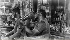 Bartenders (sharivahidi) Tags: people blackandwhite monochrome