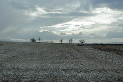 sunny sunday winter day (verblickt) Tags: boring landscape rural farmland homeland loweraustria austria winterscene snow cold clouds cloudy february