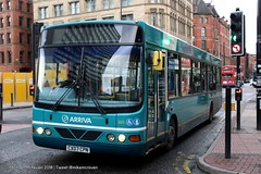 Arriva North West CX07CPN (Mike McNiven) Tags: wright commander arriva northwest altrincham interchange piccadillygardens wythenshawe