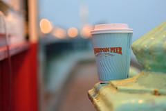 refreshments (immaculate-photons) Tags: brighton coast seafront coffee pier lights immaculatephotons beach d7100 evening january light mgwalker nikon photography sea sigma