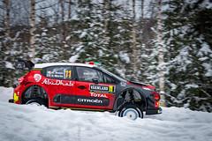 Rally Sweden 2018 (ba7b0y) Tags: car sport wrc2 wrc3 torsby värmland winter rally rallysweden wrc craigbreen scottmartin citroen c3