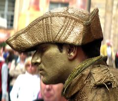 Lebende Statue (ulrich.grabowski) Tags: franconia franken bamberg bayern statue mensch kunst