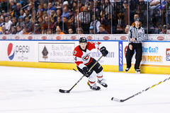 "Kansas City Mavericks vs. Cincinnati Cyclones, February 3, 2018, Silverstein Eye Centers Arena, Independence, Missouri.  Photo: © John Howe / Howe Creative Photography, all rights reserved 2018. • <a style=""font-size:0.8em;"" href=""http://www.flickr.com/photos/134016632@N02/39407447694/"" target=""_blank"">View on Flickr</a>"