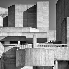 Hayward gallery (Camera Freak) Tags: london haywardgallery gallery art abstract brutalist architecture building concrete leica m10 leicam10 monochrome blackandwhite bw bnw geometric