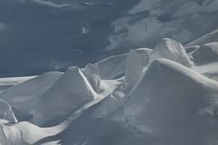 Séracs ( Türme aus Gletschereis bei der Abbruchkante ) des Obers Ischmeer - Oberes Eismeer ( Gletscher glacier ghiacciaio 氷河 gletsjer ) auf der Südseite des Eiger in den Berner Alpen - Alps im Berner Oberland im Kanton Bern der Schweiz (chrchr_75) Tags: hurni christoph chrchr75 chriguhurni februar 2018 schweiz suisse switzerland svizzera suissa swiss albumzzz201802februar albumgletscherimkantonbern gletscher glacier ghiacciaio 氷河 gletsjer alpen alps kantonbern berner oberland