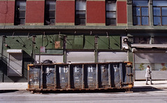 Lafayette Street (neilsonabeel) Tags: nikkormatft2 nikkormat nikon film analogue dumpster manhattan newyorkcity