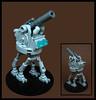 Ambulatory Artillery (Karf Oohlu) Tags: lego moc microscale artillery walkingartillery sillysunday military