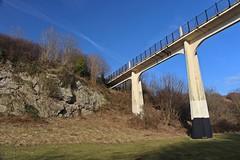Riverside 02a (oddbodd13) Tags: sunderland riverside park bridge landscape cliff trees