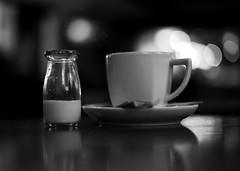Cup of Tea (linda.addis) Tags: 7daysofshooting week27 banginthemiddle blackandwhitewednesday